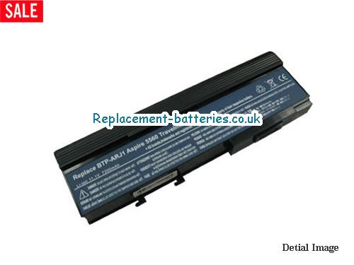11.1V ACER TRAVELMATE 6231-300508 Battery 6600mAh