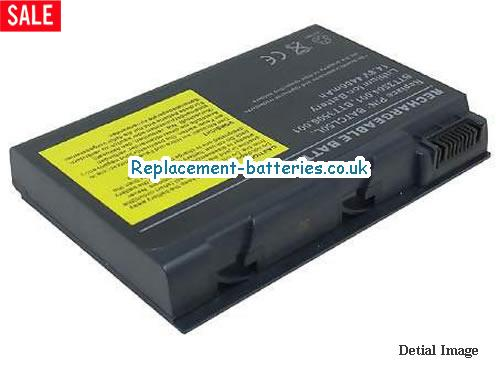 14.8V ACER TRAVELMATE 292EXC Battery 4400mAh