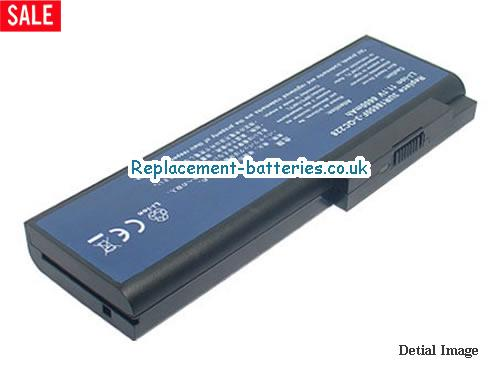 11.1V ACER TRAVELMATE 8215WLMI Battery 6600mAh