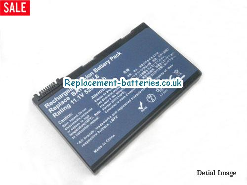 BT.00607.052 Battery, 11.1V ACER BT.00607.052 Battery 5200mAh