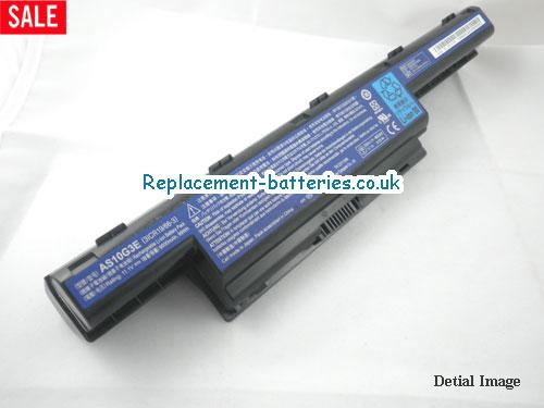 11.1V ACER ASPIRE 7741G Battery 9000mAh, 99Wh