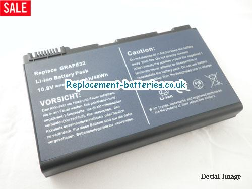 11.1V ACER EXTENSA 5220-100508 Battery 5200mAh