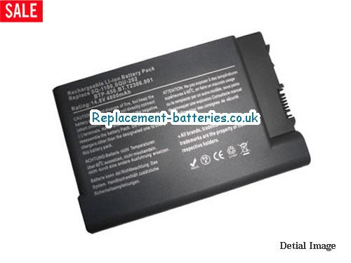 14.8V ACER TRAVELMATE 802LMI Battery 4400mAh