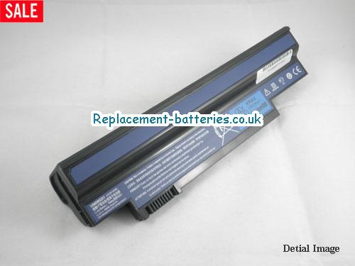 10.8V ACER ASPIRE ONE 532H-2964 Battery 7800mAh