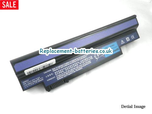 10.8V ACER ACER ASPIRE ONE 532H-2DS Battery 7800mAh