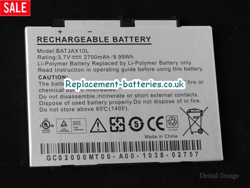 AIGO BATJAX10L Battery For MID P8880E P8880T P8888 P8860 9.99Wh 2700mAh 3.7V in United Kingdom and Ireland
