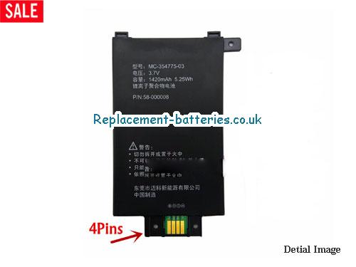 MC-354775-03 battery For Amazon Kindle Paperwhite1 in United Kingdom and Ireland