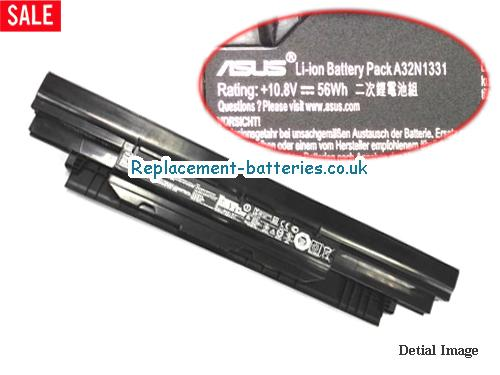 10.8V ASUS PU450CD Battery 56Wh