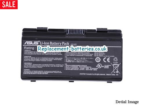 A32-X51 Battery, 11.1V ASUS A32-X51 Battery 4400mAh, 46Wh