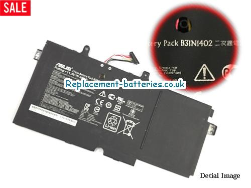 ASUS B31N1402 Battery For Q551  Q551L Series Laptop 48wh 11.4V in United Kingdom and Ireland