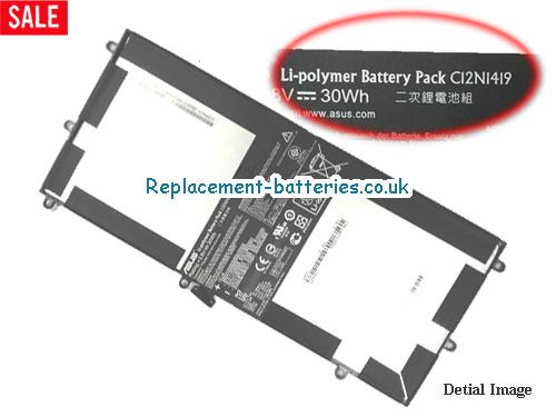 ASUS C12N1419 Battery For Transformer Book T100 CHI in United Kingdom and Ireland