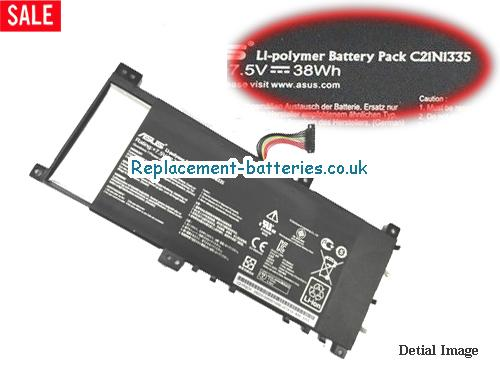ASUS C21N1355 Battery For VivoBook S451 S451LA S451LB Series in United Kingdom and Ireland