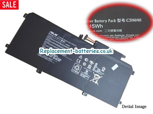 Genuine ASUS C31N1411 Battery For Zenbook UX305 Series in United Kingdom and Ireland
