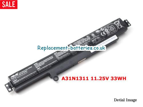 11.25V ASUS X102BA-BH41T Battery 33Wh
