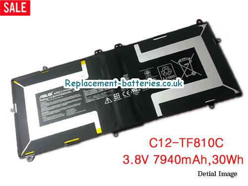 Genuine Asus VivoTab TF810C Tablet PC C12-TF810C 30Wh Battery in United Kingdom and Ireland