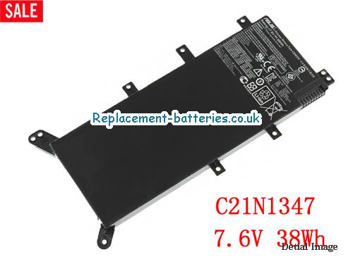 7.6V ASUS X555LN Battery 38Wh
