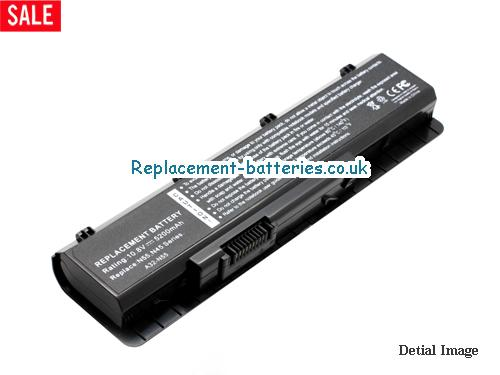 10.8V ASUS N75 SERIES Battery 5200mAh