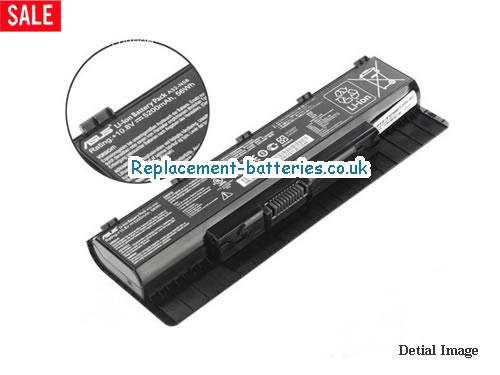 A33-N5 Battery, 10.8V ASUS A33-N5 Battery 5200mAh, 56Wh