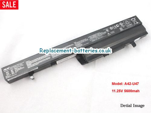 11.25V ASUS U47VC SERIES Battery 5600mAh