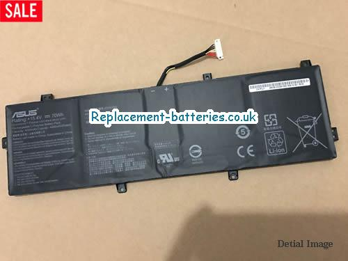 C41N1832 Battery C41P0J1 For Asus Laptop Li-Polymer 15.4V 70Wh in United Kingdom and Ireland
