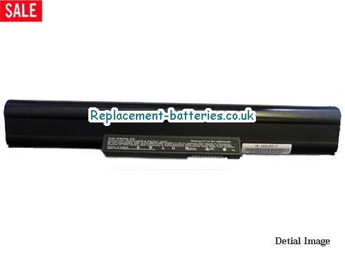 UK 4400mAh Long life laptop battery for Ecs G610 Series, G600L, G600,