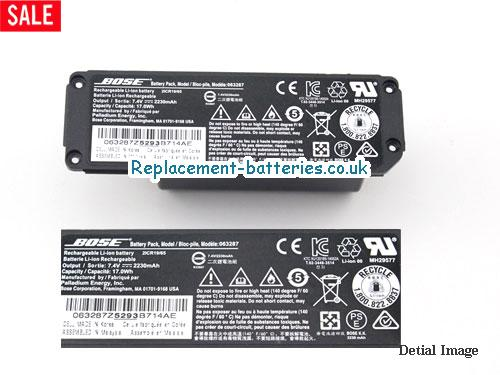 BOSE 063287 Battery For Mini Bluetooth Sound Speaker Mini V1 in United Kingdom and Ireland