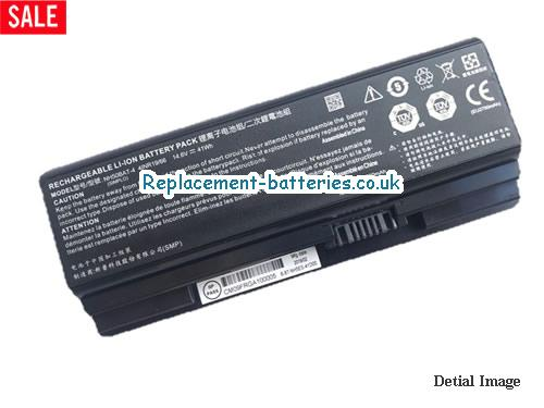 Genuine 41Wh NH50BAT-4 Battery For Clevo Hasee G7M-CT7NK G8-CT7NK G9-CT7PK in United Kingdom and Ireland