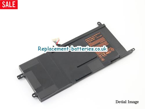 UK 60Wh Long life laptop battery for Hasee Z8, Z7-SL7S3, Z7-i78172S1, Z7-I7 R0,