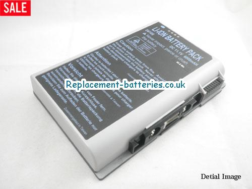 11.1V CLEVO DESKNOTE PORTANOTE D630SU SERIES Battery 6000mAh