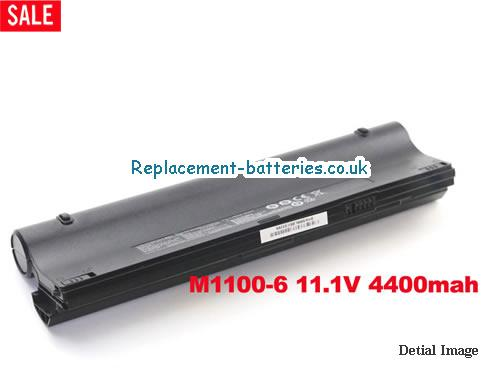 M1100BAT M1100BAT-6 Battery for Clevo M1100 M1110 M1110Q M1111 M1115 Series in United Kingdom and Ireland