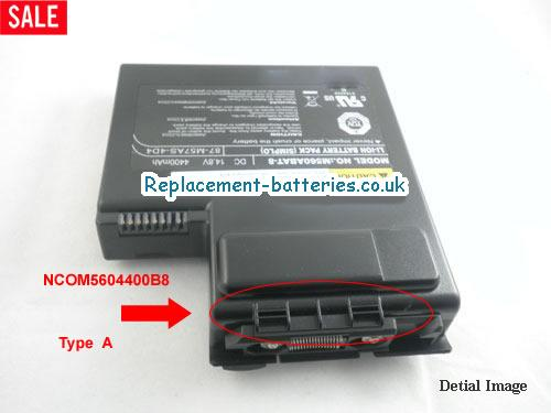 14.8V CLEVO M560 SERIES Battery 4400mAh
