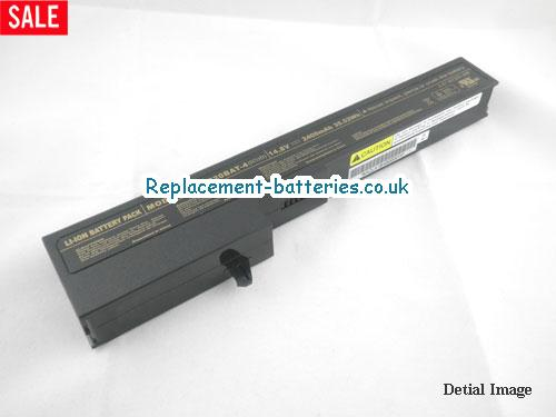 UK 2400mAh Long life laptop battery for Smartbook Heaven XTC Series,