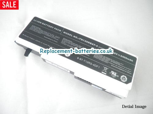 14.8V CLEVO TN120 SERIES Battery 2400mAh