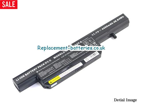 Genuine W240BAT-6 Battery For Clevo W240 W240EU 6-87-W15ES-4V4 W250EUQ W270EUQ series in United Kingdom and Ireland