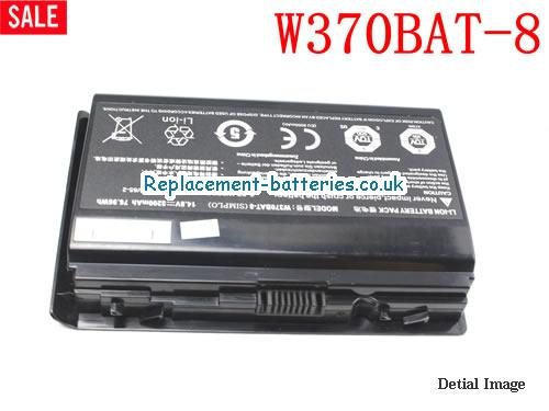 Genuine CLEVO W370SK W370BAT-8 battery for K590S K650C K750S K660E laptop 6-87-W37SS-427 14.8V in United Kingdom and Ireland