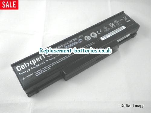 UK 4800mAh Long life laptop battery for Asus SQU-605, SQU-601, SQU-528, SQU-503,