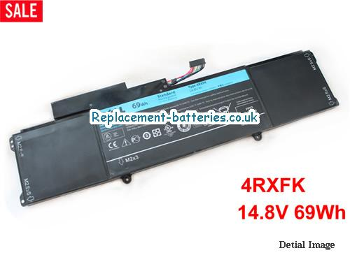 14.8V DELL XPS14-L421X Battery 69Wh