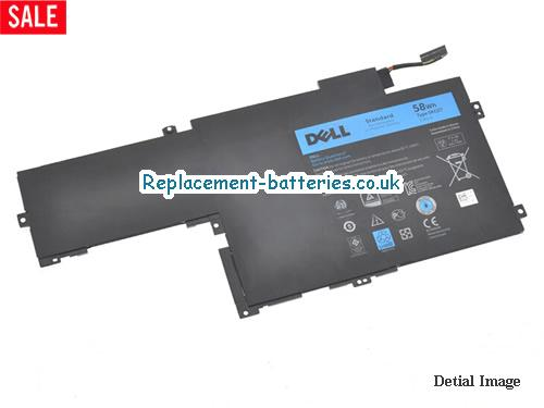 7.4V DELL INSPIRON 14-743 Battery 58Wh