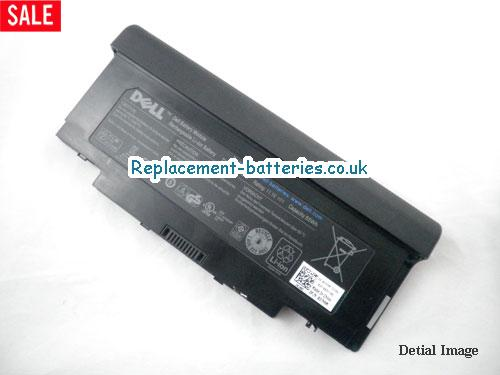 60NGW Battery, 11.1V DELL 60NGW Battery 55Wh
