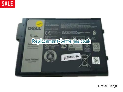 7WNW1 Battery For Dell Li-Polymer 11.4v 4342mAh 51Wh in United Kingdom and Ireland