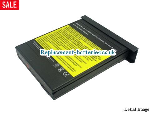 UK 6600mAh Long life laptop battery for Hp OmniBook 7150, OmniBook 7100,