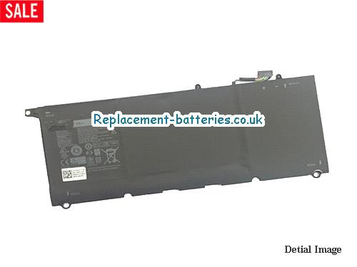 56WH 90V7W Battery For Dell XPS 13 9343 9350 in United Kingdom and Ireland