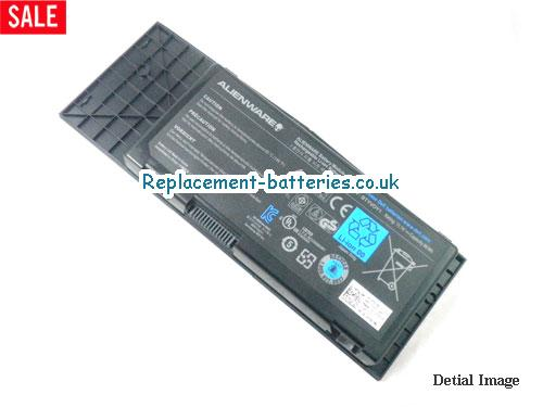 Genuine BTYV0Y1 7XC9N C0C5M Battery For DELL Alienware M17x R3 Laptop 90WH 9cells in United Kingdom and Ireland