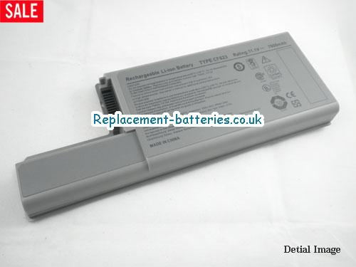 YW652 Battery, 11.1V DELL YW652 Battery 7800mAh