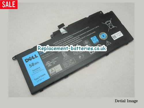Genuine F7HVR Battery For Dell Inspiron 7437 7000 7537 14.8V 58Wh in United Kingdom and Ireland