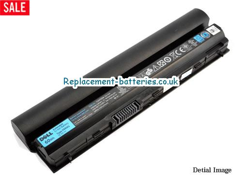 11.1V DELL LATITUDE E6220 Battery 60Wh