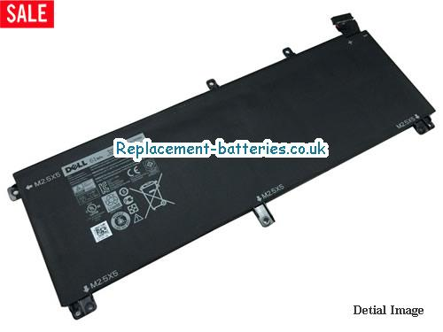 TOTRM Battery, 11.1V DELL TOTRM Battery 61Wh