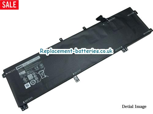 Genuine 245RR H76MV 91Wh Battery for Dell  Precision M3800  XPS 15 9530 Series Laptop in United Kingdom and Ireland