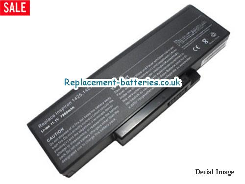 BATEL90L6 Battery, 10.8V DELL BATEL90L6 Battery 7800mAh