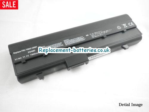 312-0450 Battery, 11.1V DELL 312-0450 Battery 6600mAh